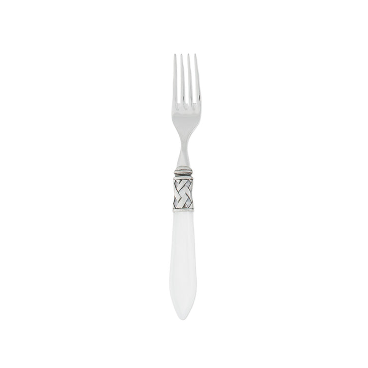 Aladdin Antique White Salad Fork by VIETRI