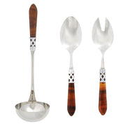 Aladdin Brilliant Tortoiseshell Soup & Salad Set by VIETRI