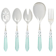 Aladdin Brilliant Aqua Classic Serving Set by VIETRI