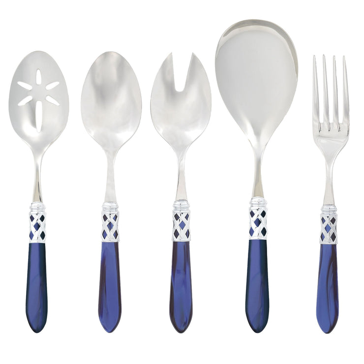 Aladdin Brilliant Blue Classic Serving Set by VIETRI