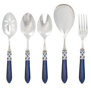 Aladdin Antique Blue Classic Serving Set by VIETRI