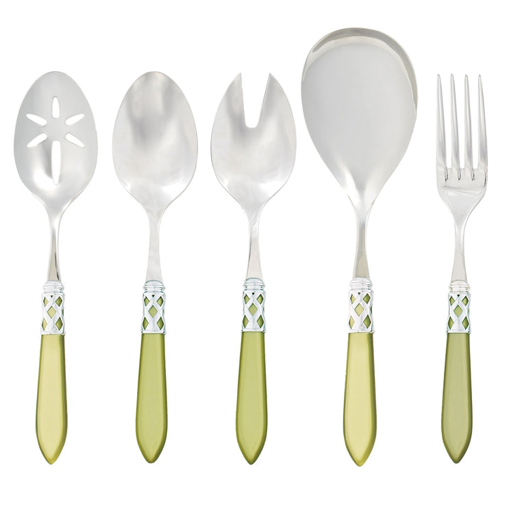 Aladdin Brilliant Chartreuse Classic Serving Set by VIETRI