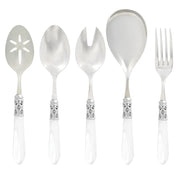 Aladdin Brilliant Clear Classic Serving Set by VIETRI