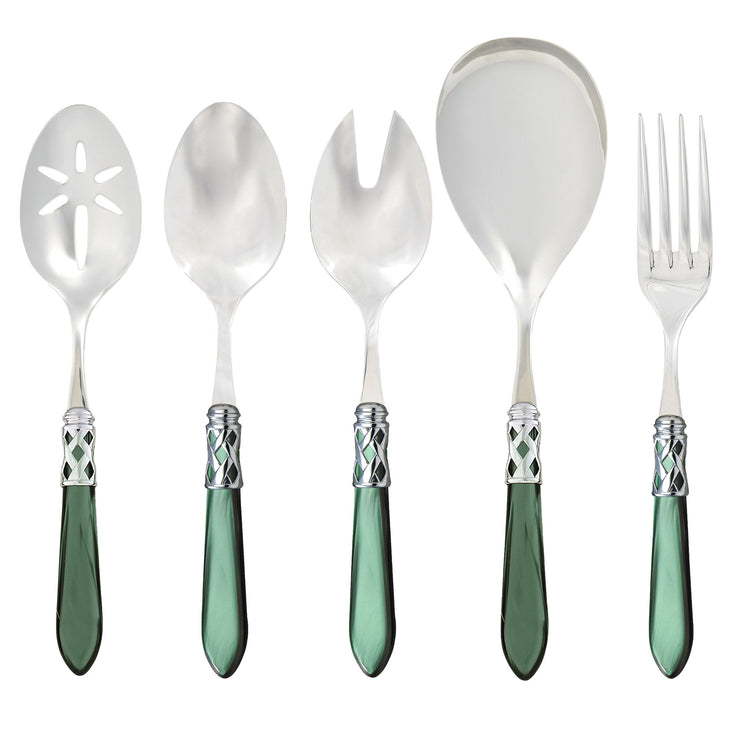 Aladdin Brilliant Green Classic Serving Set by VIETRI