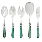 Aladdin Antique Green Classic Serving Set by VIETRI