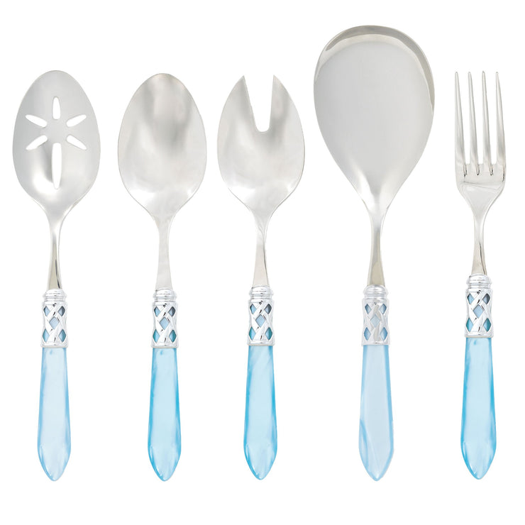 Aladdin Brilliant Light Blue Classic Serving Set by VIETRI
