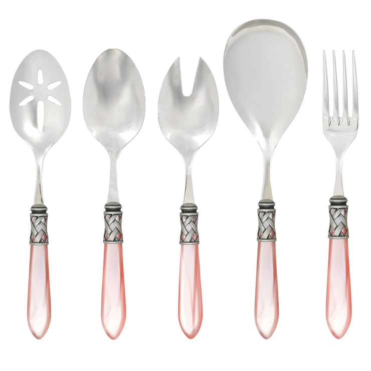 Aladdin Antique Light Pink Classic Serving Set by VIETRI