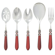 Aladdin Antique Red Classic Serving Set by VIETRI