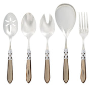 Aladdin Brilliant Taupe Classic Serving Set by VIETRI