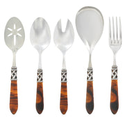 Aladdin Antique Tortoiseshell Classic Serving Set by VIETRI