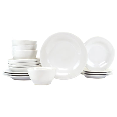 Aurora Snow Sixteen-Piece Place Setting by VIETRI