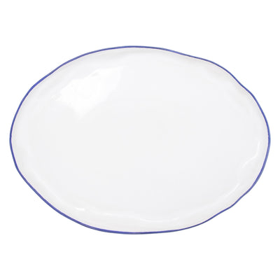 Aurora Edge Large Oval Platter by VIETRI