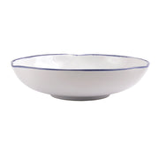 Aurora Edge Shallow Bowl by VIETRI