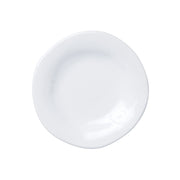 Aurora Snow Salad Plate by VIETRI