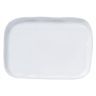 Aurora Snow Rectangular Platter by VIETRI