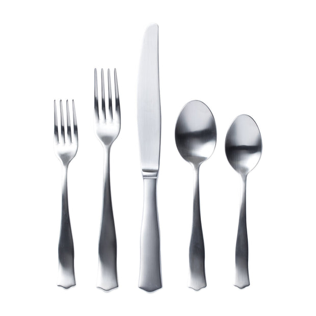 Borgo Matte Five-Piece Place Setting by VIETRI
