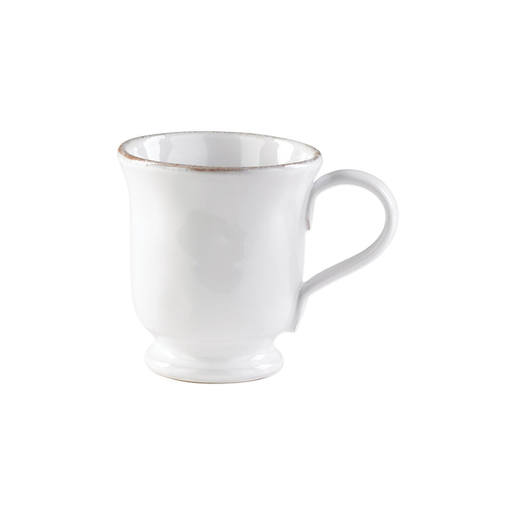 Bianco Footed Mug by VIETRI