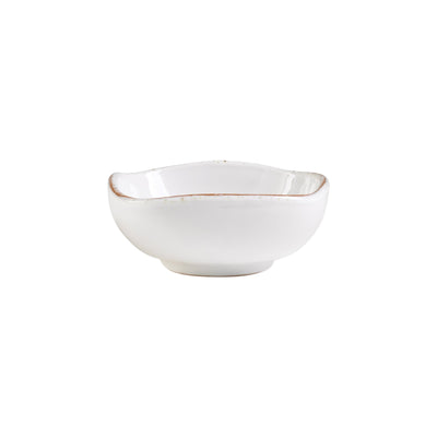 Bianco Condiment Bowl by VIETRI