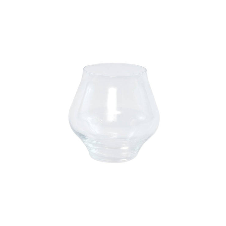Contessa Clear Stemless Wine Glass by VIETRI