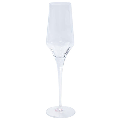 Contessa Clear Champagne Glass by VIETRI