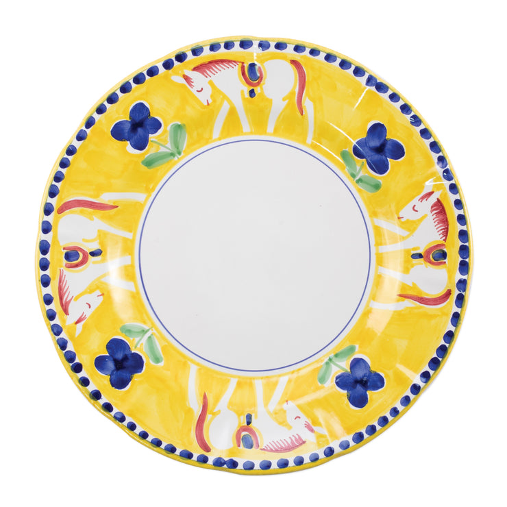 Campagna Cavallo Service Plate/Charger by VIETRI