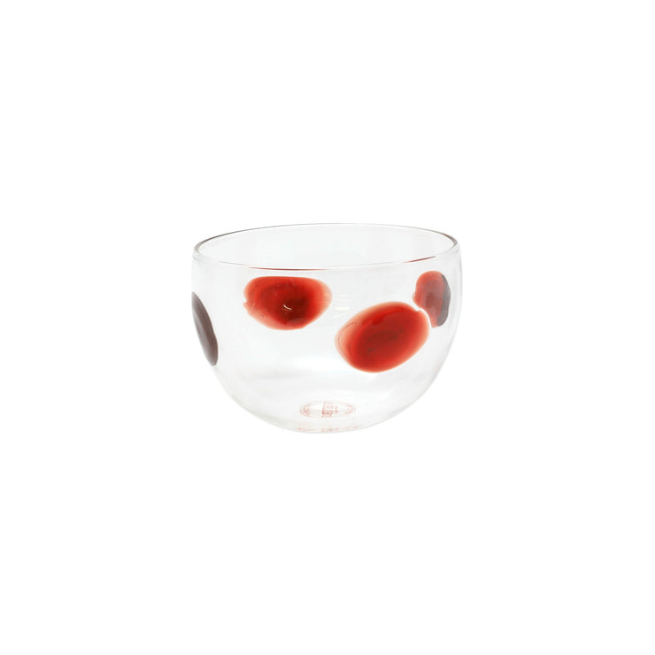 Drop Red Small Bowl by VIETRI