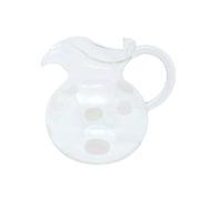 Drop Three-Spout Pitcher by VIETRI