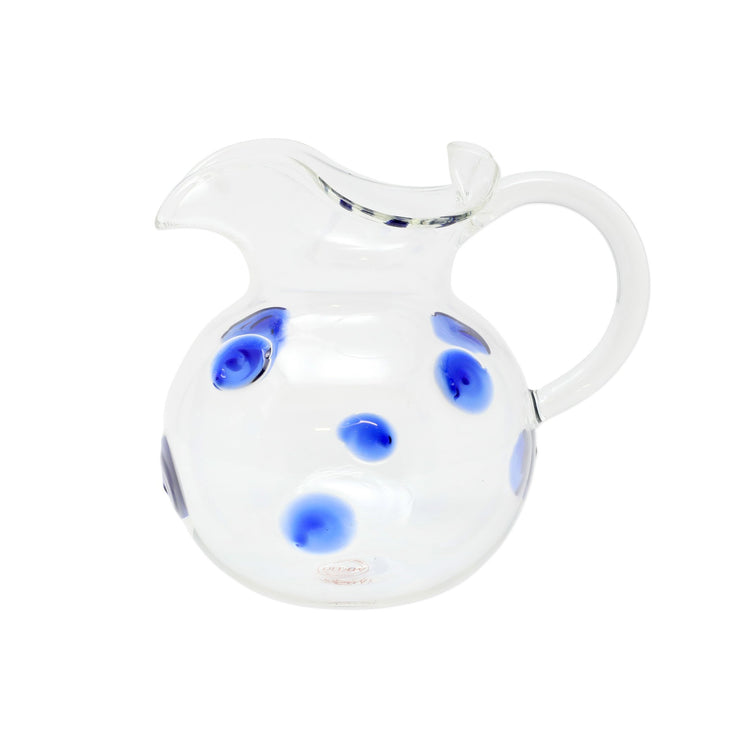 Drop Blue Venetian Pitcher by VIETRI