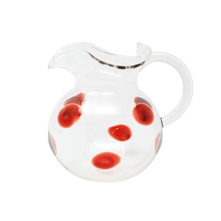 Drop Red Venetian Pitcher by VIETRI