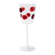 Drop Wine Glass - Red by VIETRI