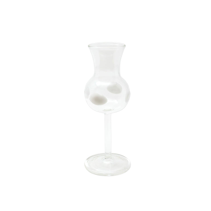 Drop White Limoncello Glass by VIETRI