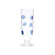 Drop Champagne Glass - Blue by VIETRI