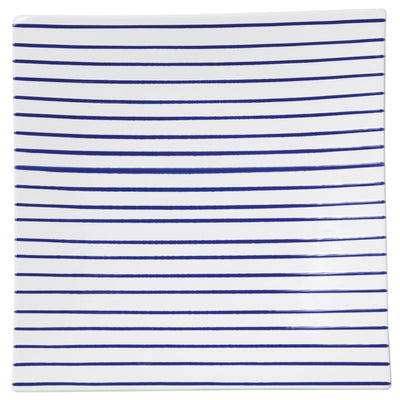 Stripe Square Platter by VIETRI