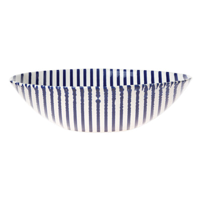 Stripe Medium Serving Bowl by VIETRI