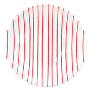 Stripe Red Medium Serving Bowl by VIETRI