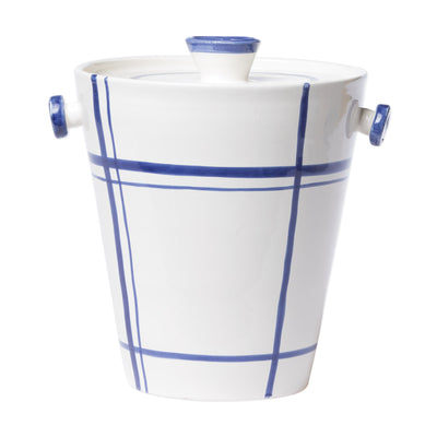 Stripe Large Ice Bucket by VIETRI