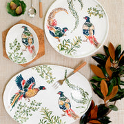 Fauna Pheasants Large Oval Platter
