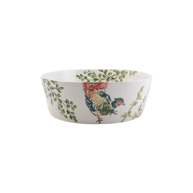 Fauna Pheasants Large Serving Bowl by VIETRI
