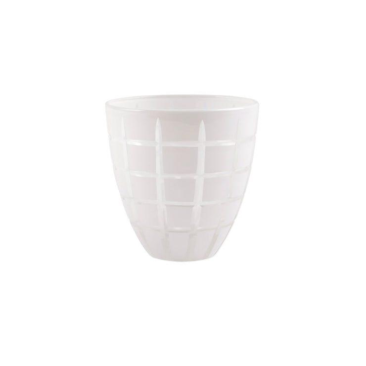 Finestra White Tumbler by VIETRI