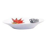 Fortunata Rooster Large Shallow Bowl by VIETRI