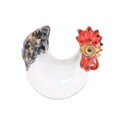 Fortunata Rooster Figural Footed Small Bowl