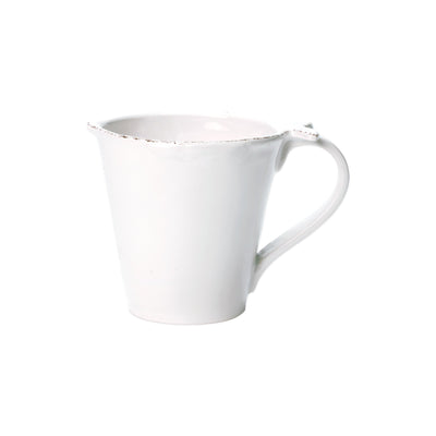 Lastra Fish White Mug by VIETRI