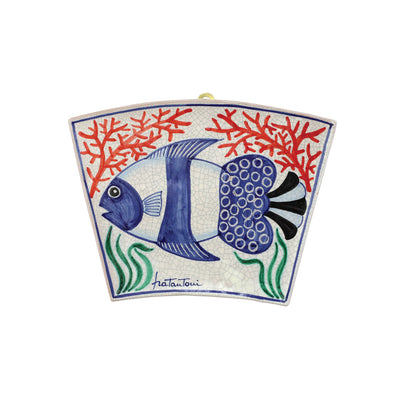 First Stones Fish Wall Plaque