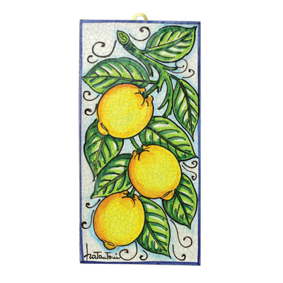 First Stones Lemon Vine Wall Plaque
