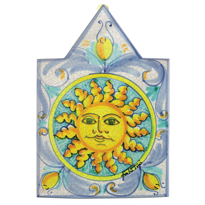 First Stones Pointed Sun Wall Plaque