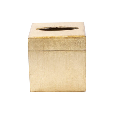 Florentine Wooden Accessories Gold Tissue Box by VIETRI