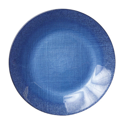 Glitter Glass Cobalt Service Plate/Charger by VIETRI