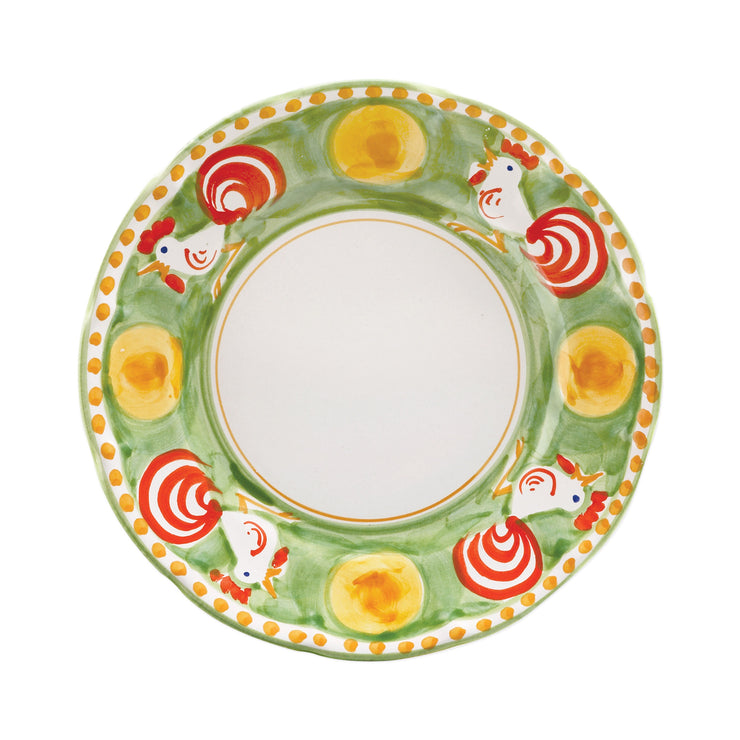 Campagna Gallina Dinner Plate by VIETRI