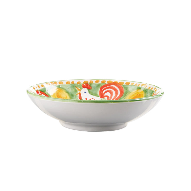 Campagna Gallina Coupe Pasta Bowl by VIETRI