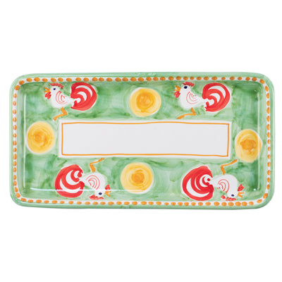 Campagna Gallina Rectangular Platter by VIETRI
